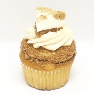 Cookie Butter Cheesecake Cupcake