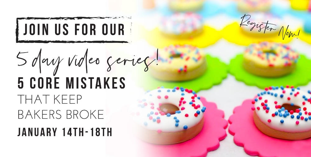 The Cake Mamas 5 day video series